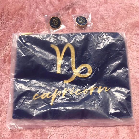 wet n wild Other - Wet n Wild zodiac collection makeup bag and pins